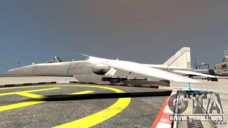Liberty City Air Force Jet para GTA 4 left