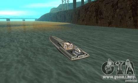 Tschilpjes Jetmax para GTA San Andreas vista posterior izquierda