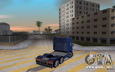 SCANIA 164L 580 V8 para GTA Vice City vista lateral izquierdo