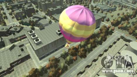 Balloon Tours option 9 para GTA 4 Vista posterior izquierda