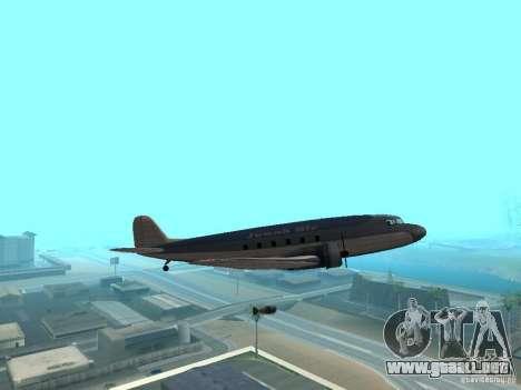 Bombas para aviones para GTA San Andreas quinta pantalla