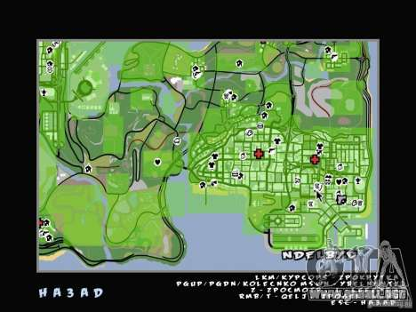 C-HUD v2.0 para GTA San Andreas tercera pantalla