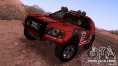 Range Rover Bowler Nemesis para GTA San Andreas