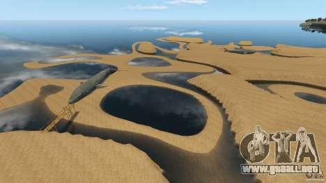 Desierto de Gobi para GTA 4 séptima pantalla