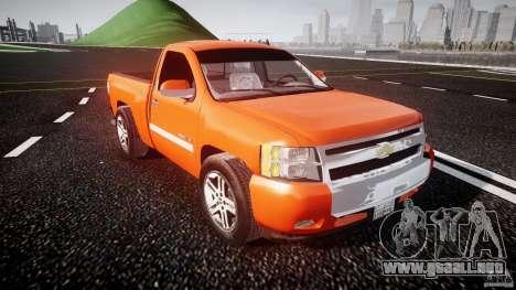 Chevrolet Silverado 2011 para GTA 4 vista interior