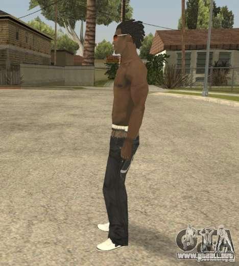 Afro-American Boy para GTA San Andreas segunda pantalla