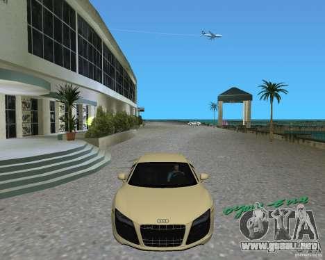 Audi R8 5.2 Fsi para GTA Vice City visión correcta