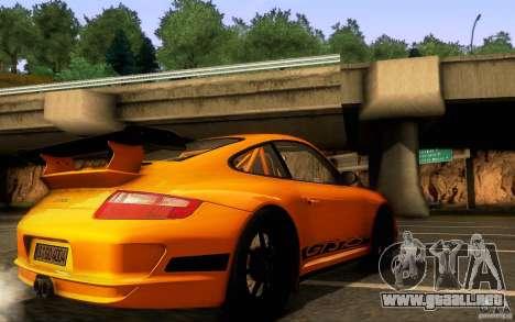 Porsche 911 GT3 RS para la vista superior GTA San Andreas