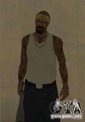 Los Santos Vagos (Skin pack) para GTA San Andreas