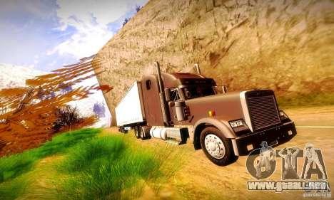 Freightliner Classic XL para visión interna GTA San Andreas