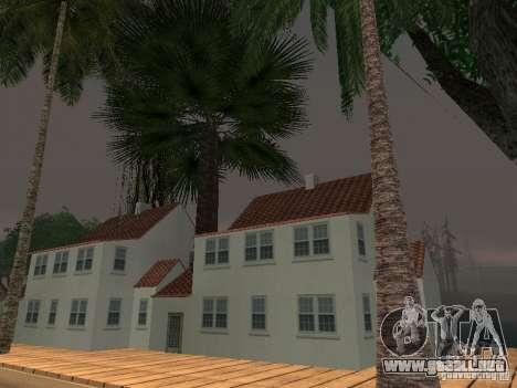 El misterio de las islas tropicales para GTA San Andreas