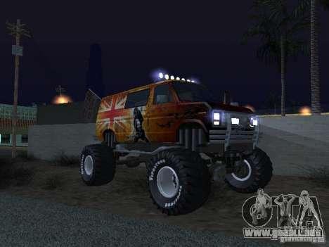 Ford Grave Digger para visión interna GTA San Andreas