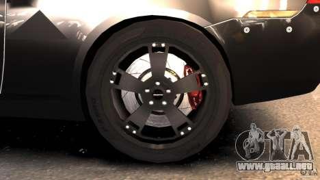 NFSOL State Police Car para GTA 4 vista hacia atrás