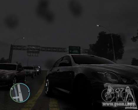 Jaguar XF-R para GTA 4 visión correcta