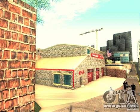 Una nueva estación de bomberos en San Fierro para GTA San Andreas tercera pantalla