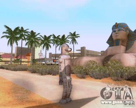 Futurama para GTA San Andreas segunda pantalla