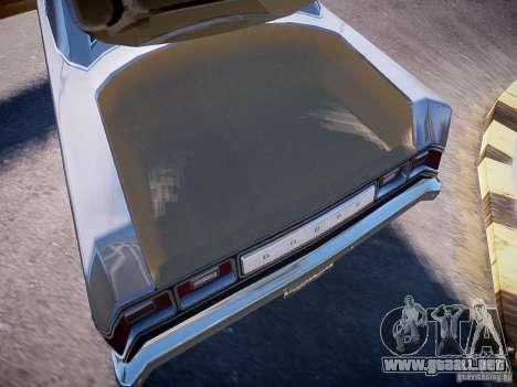 Dodge Dart 1975 para GTA 4 vista interior