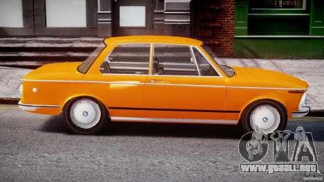 BMW 2002 1972 para GTA 4 vista lateral