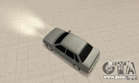 VAZ 2115 TUN para GTA San Andreas vista posterior izquierda