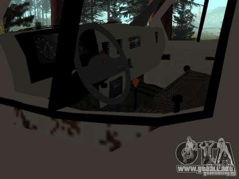 Una gacela para GTA San Andreas quinta pantalla