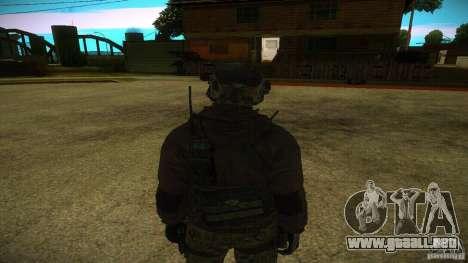 Sandman para GTA San Andreas segunda pantalla