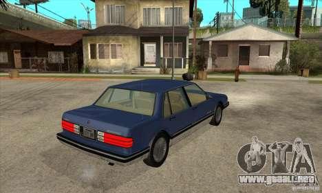 Pontiac Bonneville 1989 para la visión correcta GTA San Andreas