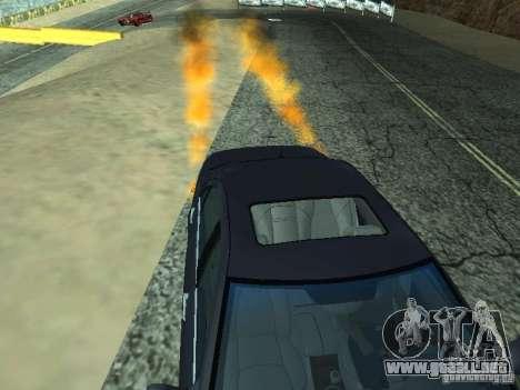 Car Effect para GTA San Andreas
