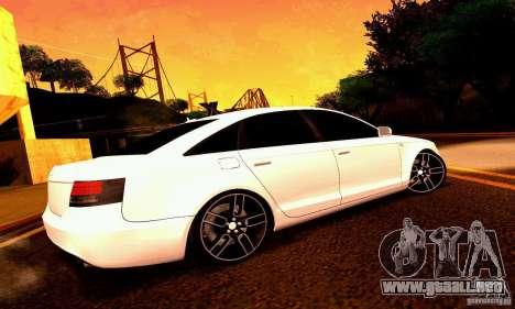 Audi A6 Blackstar para las ruedas de GTA San Andreas