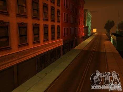 La ciudad subterránea secreta v1.0 para GTA San Andreas segunda pantalla