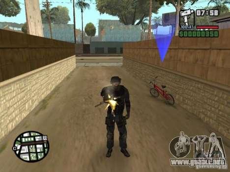 Comando de los SWAT 4 para GTA San Andreas tercera pantalla