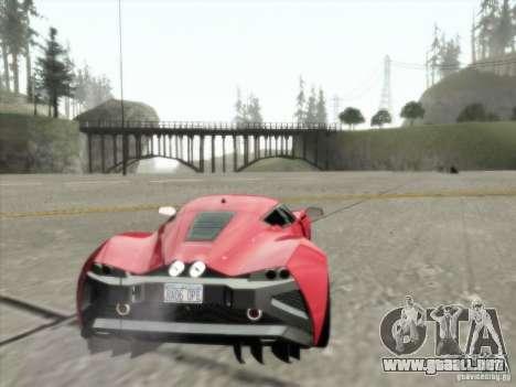 ENBSeries v1.3 para GTA San Andreas octavo de pantalla