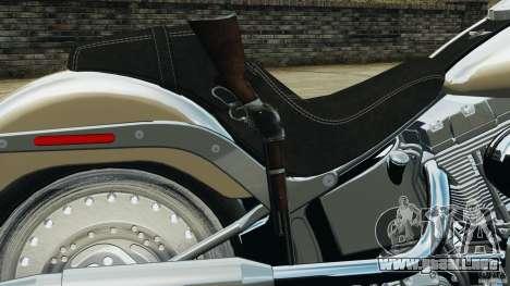 Harley Davidson Softail Fat Boy 2013 v1.0 para GTA 4 vista superior
