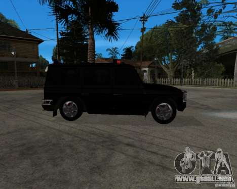Mercedes-Benz AMG G55 (W463) 2008 SE para GTA San Andreas left