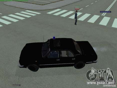 Volga FEDERAL para GTA San Andreas left
