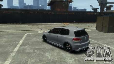 Volkswagen Golf GTI para GTA 4 visión correcta