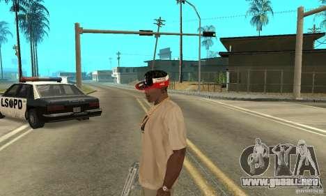 New Era Cap para GTA San Andreas sucesivamente de pantalla