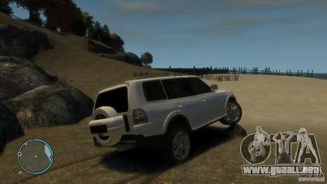 Mitsubishi Pajero Wagon para GTA 4 visión correcta