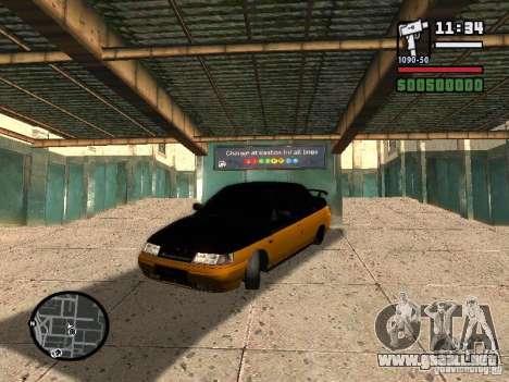 VAZ 2110 HERTZ-estilo (D.A.G) naranja para GTA San Andreas