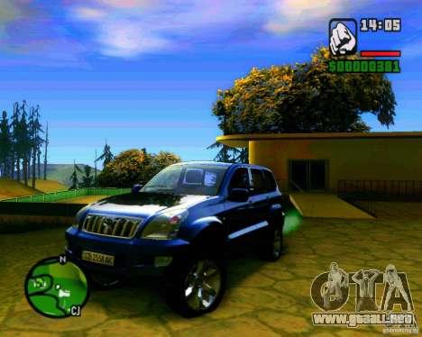 Toyota Land Cruiser Prado 120 para GTA San Andreas