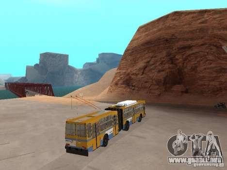 Remolque YUMZ T1 para GTA San Andreas left