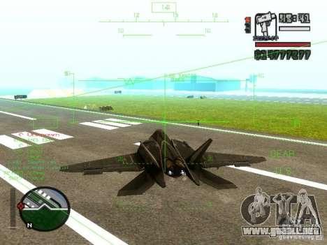 Xa-20 razorback para GTA San Andreas left