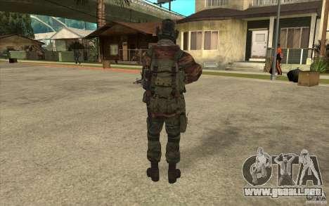 Bandera de las fuerzas especiales para GTA San Andreas tercera pantalla