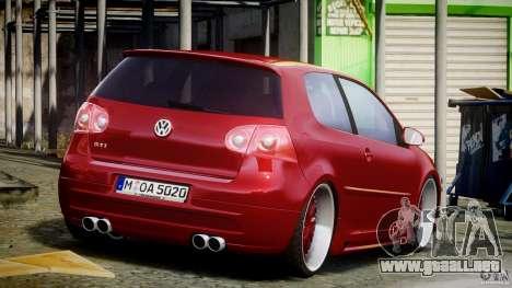 Volkswagen Golf GTI 2006 v1.0 para GTA 4 vista lateral