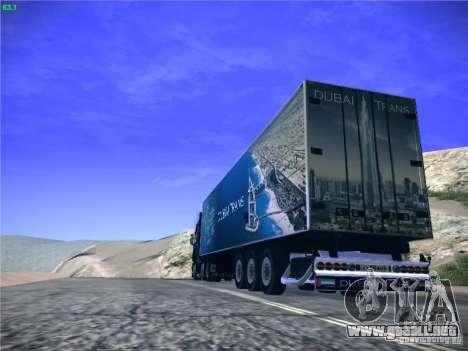 Remolque para el transporte del Scania R620 Duba para GTA San Andreas