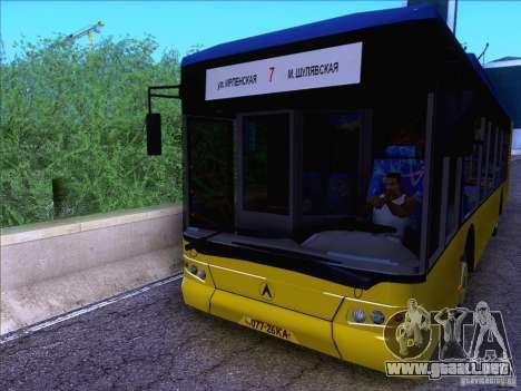 ElectroLAZ-12 para GTA San Andreas vista posterior izquierda