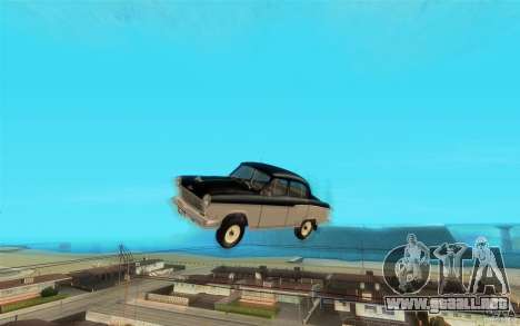 Relampago Negro para GTA San Andreas novena de pantalla