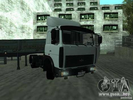 MAZ 5432 para GTA San Andreas