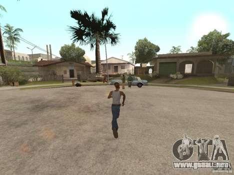 Awesome .IFP V3 para GTA San Andreas sexta pantalla