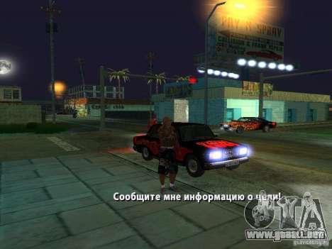 Killer Mod para GTA San Andreas sexta pantalla