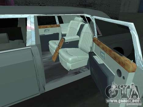 Rolls-Royce Phantom Limousine 2003 para la visión correcta GTA San Andreas
